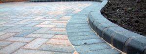 Block paving in {flood}